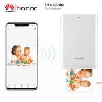 Original Huawei Zink Tragbare Foto Drucker Ehre Mini Pocke Drucker Bluetooth Verbinden Mobile Android iOS Telefon DIY Teilen