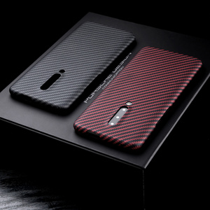 Image 3 - Aramid fiber Back Cover For OnePlus 7 Pro Protective Case 7T 8 nord carbon Cases and covers Nylon bumper Official Design