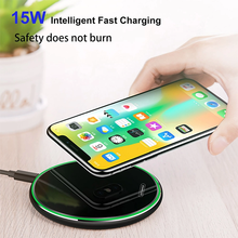 TOVYS Metal FAST CHARGER wireless charger, for iPhone Xs / XS / XS Max / iPhone 8/8 Plus, for Galaxy S10 / S9 / note 9 / note 8