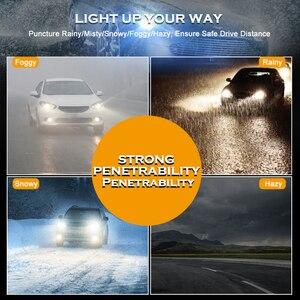 Image 4 - CNSUNNYLIGHT 2 Chiếc Xe H4 LED H7 H11 H8 H16 Đèn Sương Mù 9005 HB3 9006 Trắng Ban Ngày Lái Xe Ánh Sáng biến Đậu Xe Bóng Đèn LED 12V