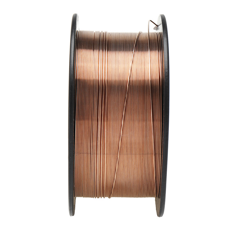 0.6/0.8/0.9/1.0/1.2mm 1KG Carbon Steel Gas Shielded Welding Wire Mild Steel ER70S-6 / ER50-6 MIG Carbon Steel Welding Wires