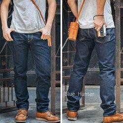Мужские узкие джинсы красного цвета Tornado 511, 16 унций, синие джинсовые брюки ONEWASH