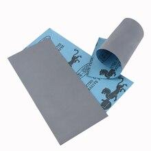 36 stücke 400 Zu 3000 Schleifpapier Sortiment Trocken/Nass Für Automotive Schleifen Holz Möbel Finishing Holz Metall Polieren