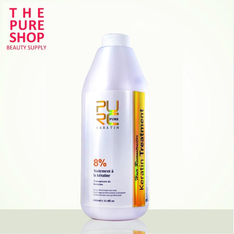 Pro Brazilian Hair Keratin Treatment 8% No More Frizz Hair Straightener 1000ml For Hair Mask And Hair Care Keratin Treatment