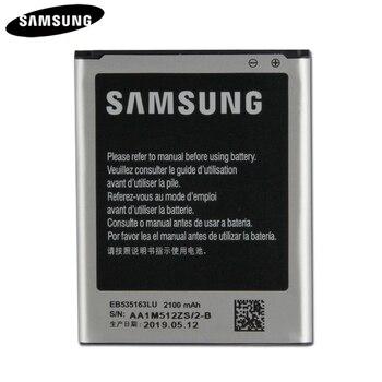 100% Original Replacement Battery EB535163LU For Samsung I9082 Galaxy Grand DUOS I9080 I879 I9118 i9060 Genuine 2100mAh