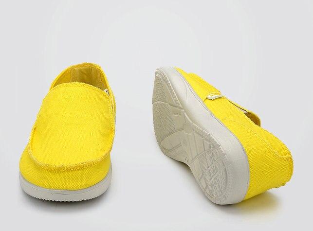 Chaussures en toile chaussures décontractées respirantes hommes chaussures mocassins doux confortable en plein air plat paresseux chaussures mâle Chaussure Homme KD891-912