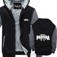 Толстовка с логотипом Pantera, американский хэви-метал, рок-группа, зимнее пальто, мужские зимние толстовки с длинными рукавами, Толстая куртка sbz4221