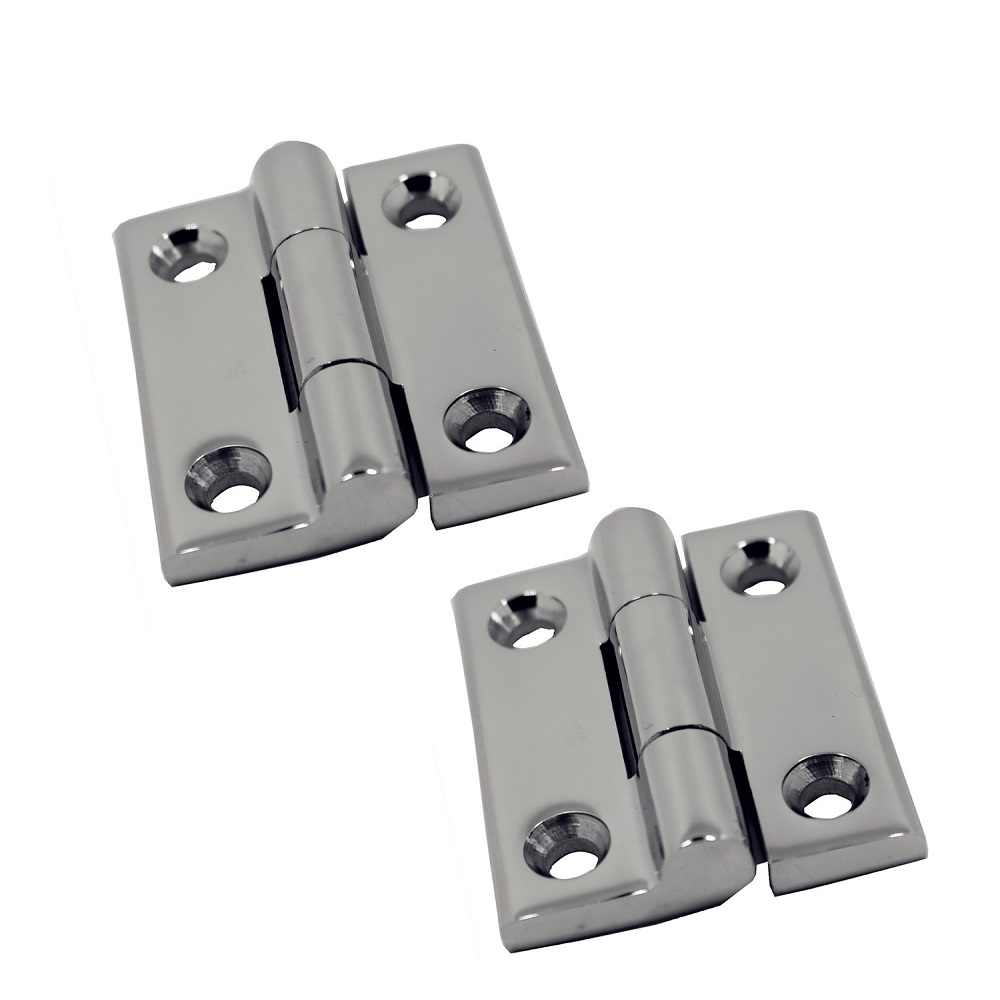4pcs Boat Caravan RV Door Short Side Hinge Strong Marine 316 Stainless Steel