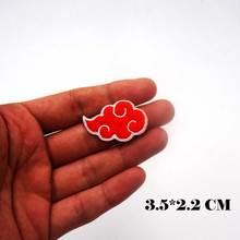 Patches Cartoon Akatsuki-Logo Embroidered Iron Japanese Cloud Children Cute Style Pants