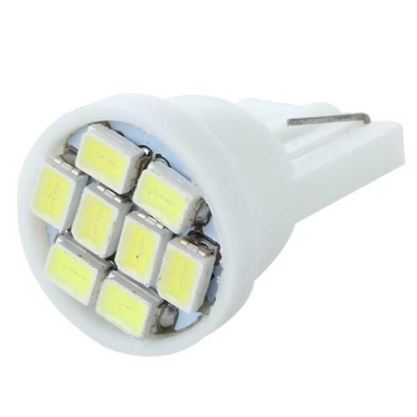 2 x T10 501 168 194 W5W 8 LED SMD blanco coche cuña lateral lámpara bombillas 12V nuevo