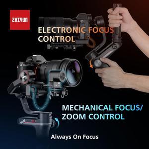 Image 5 - ZHIYUN Offizielle Weebill S Handheld Gimbal 3 Achse Bild Übertragung Stabilisator für Spiegellose Kamera OLED Display Neue Ankunft