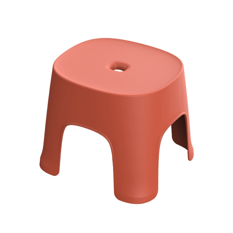 New-Small Bench Anti-Skid Coffee Table Plastic Simple Stool Adult Thickening Children'S Stool For Shoes Short Stool