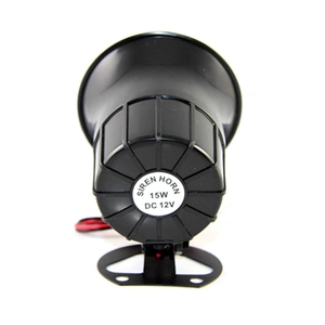 Image 4 - Security DC 12V Outdoor Alarm Siren Wire Loud Alarm Horn 115Db Exterior Sirena Alarma Speaker For Alarm System 15W