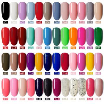 MORDDA 5 ML Nail Gel Polish For Manicure UV LED 60 Colors Nail Varnish Hybrid Semi Permanent Gel Lacquer Nail Art Design Tools 1