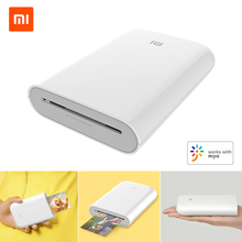 Xiaomi mijia AR Printer 313x400 dpi Portable Photo Mini Pocket With DIY Share 500mAh picture printer pocket printer