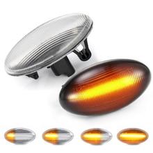цена на 2Pcs LED Turn Signal Side Marker Light Lamp For Citroen C1 C2 C3 C4 C5 C6 Xsara Picasso N0/N1/N2 Berlingo Elysee Jumpy Crosser
