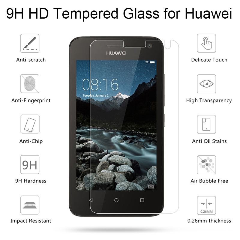 Protective Glass For Y3 Ii Y5 Ii Tempered Glass For Huawei Y6 Pro 2017 Screen Protector Film For Huawei Y6 Ii Compact Y7 Prime