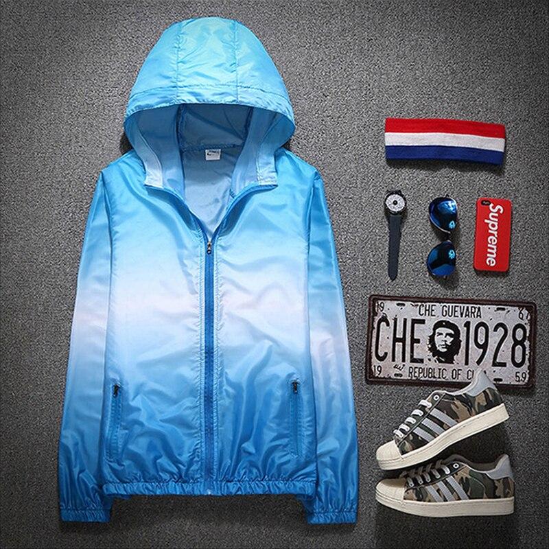 2021 Autumn Jacket for Women Hooded Patchwork  Women's Spring Windbreaker Light with Zipper Hooded Female Coat Outwear 4