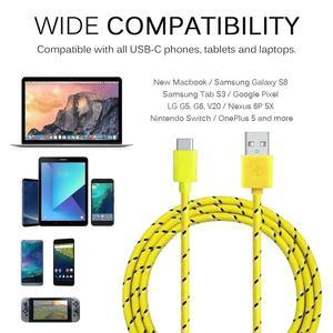 Image 5 - Olnylo USB סוג C כבל מהיר טעינת כבל נתונים עבור Samsung S10 S9 הערה 9 Oneplus 7 xiaomi Huawei טלפון סוג c USB C כבלים