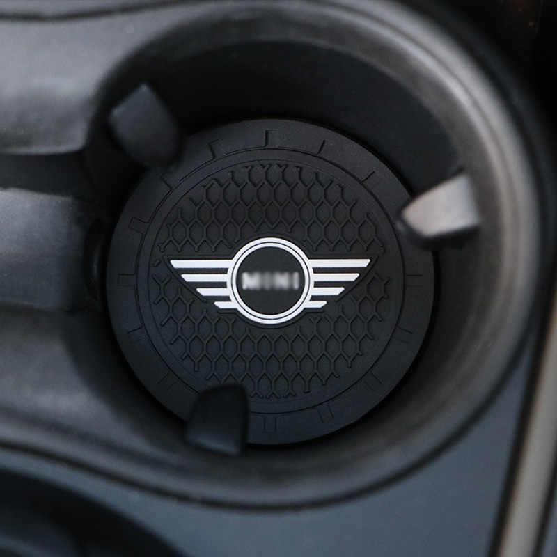 Mobil Cangkir Pemegang Non-Slip Mat Dekorasi Interior Mobil Styling Aksesoris untuk Mini Cooper Clubman R55 R56 R57 R58 r59 F54 F60