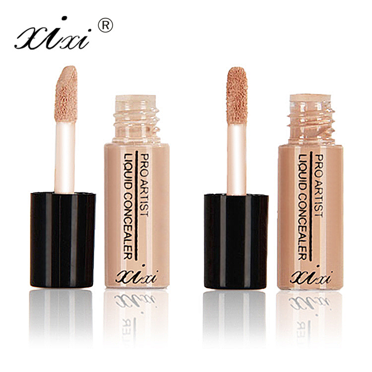 Full Cover 2Colors Liquid Concealer Makeup Eye Dark Circles Concealer Cream Face Corrector Waterproof Make Up Base CosmeticTSLM1 image