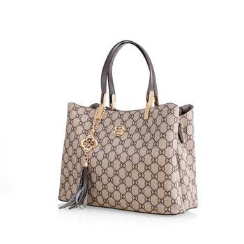 цена на New Stylish Handbag for Women Vintage Shoulder Bag Ladies Fashion Printed Shoulder Handbag Casual Tendy Shopping Tote Bag 2020
