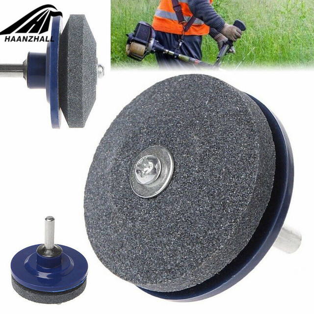 1Pc/2PC/3PC/4PC/5PC/6PC Lawn Mower Sharpener Lawnmower Sharpener for Power Hand Drill Knife Sharpening Stone Grindstone Hot Sale 1