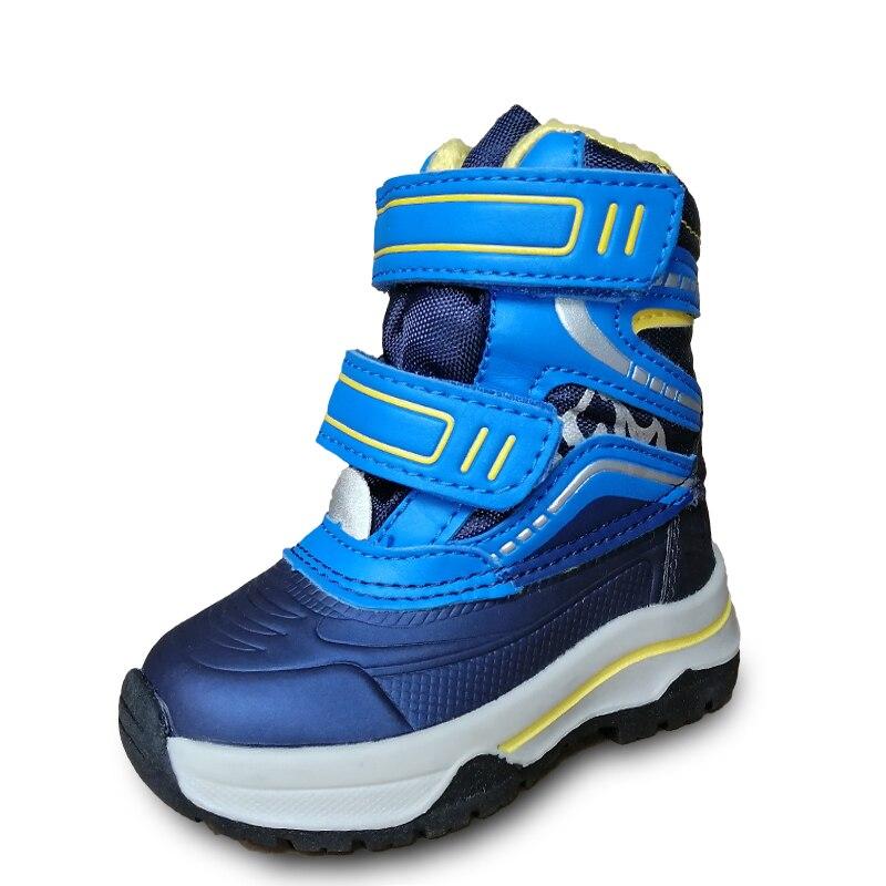 NEW 1pair Children Winter Warm Boy Snow Boot,Kids Shoes, Cheap Boy Shoes
