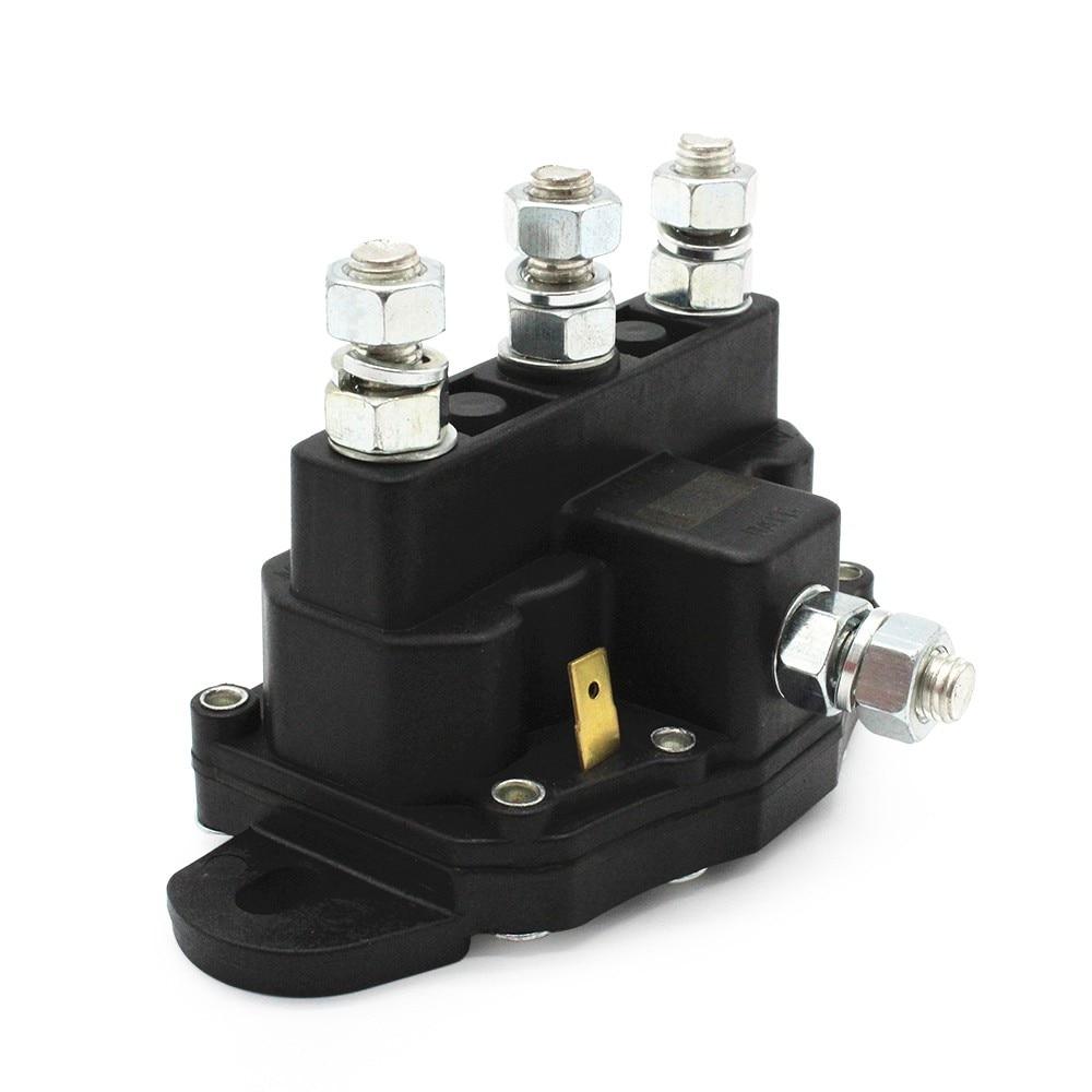 Reversing Solenoid Relay 6 Terminal Continuous Winch Motor Contactor 12V Winch Motor Contactor Winch Relay