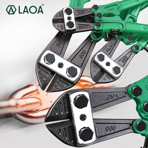 Image 1 - LAOA בורג קאטר Heavy Duty Rebar קאטר Cr v פלדה לעבות חוט חיתוך צבת נעילת שרשרת