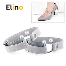 Женские эластичные шнурки для обуви на высоком каблуке расшитые