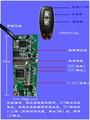 Бесключевой модуль доступа PKE RFID идентификация Беспроводной интеллектуальный переключатель близко к автоматической разблокировки