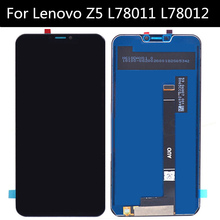 For Lenovo Z5 L78011 L78012 LCD Display+Touch Screen Assembly Replacement for phone Lenovo Z5 LCD Screen
