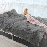 Large Size Comfortable Plush Blanket For Bed Living Room Super Soft Fur Throw Blanket Sofa Cover Warm Bedding Sheet 200x230cm