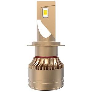 Image 5 - ASLENT רכב פנס אין שגיאת h7 led canbus H4 LED H1 H8 H11 HB3 HB4 9005 9006 9012 60W 20000lm 6500K אוטומטי מנורת ערפל אור נורות
