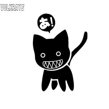 Volkrays pegatina coche dibujos animados Azumanga Daioh gato Manga Anime accesorios reflectante...