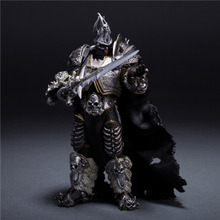 Новая модель Hand Do World-Of-Warcraft, 7 дюймов, коллекционные статуэтки, фигурка героя из мультфильма Lich King Alsace