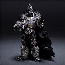 Figurines du monde Of Warcraft, 7 pouces, dessin animé Lich King Alsace, modèle à collectionner, Figurines daction