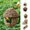 5 Styles Birds Nest Bird Cage Natural Grass Egg Cage Bird House Outdoor Decorative Weaved Hanging Parrot Nest Houses Pet Bedroom 1