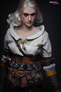 Image 3 - 1/6 scale Ciri action figure with female body head sculpt underwear Brown trousers boots Collection