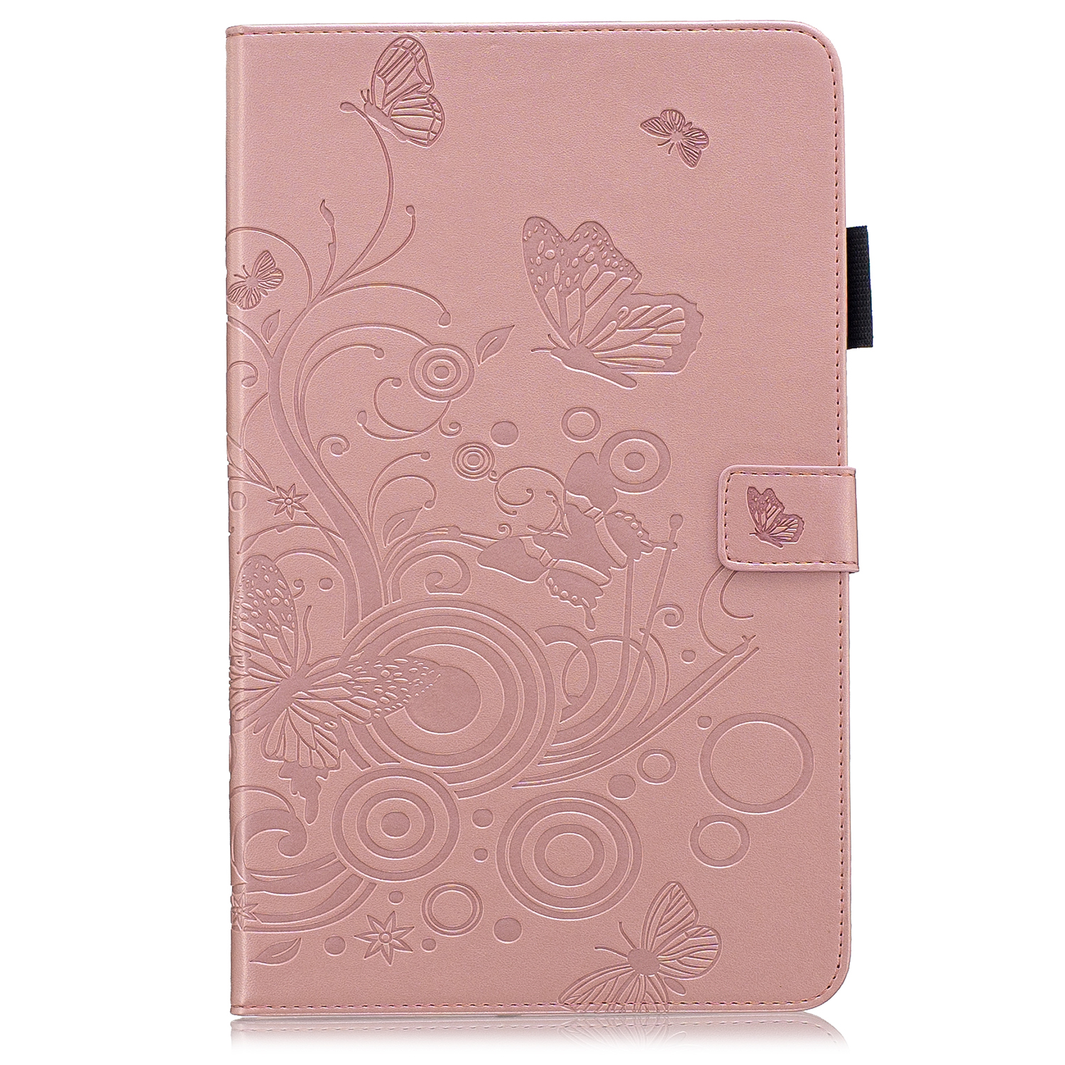 Butterfly Flower Case For Samsung Galaxy Tab A 10.1 2019 T510 T515 Stand Leather Cover For SM-T510 SM-T515 TAB A10.1 Inch Cover