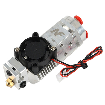 3D Printer Parts NF THC-01 Hotend Kit 3 in 1 Out Multi-Color Three Colors Switching Remote Extruder Hotend Kit for 0.4mm 1.75mm