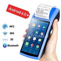 POS PDA Wireless Bluetooth Android Printer 58mm WIFI Barcode Barcode Reader Handheld Terminal Loyverse POS Printer PDA 3G OTG