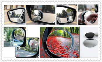 Car borderless small round blind spot mirror For BMW all series 1 2 3 4 5 6 7 X E F-series E46 E90 X1 X3 X4 X5 X6 F07 F09 image