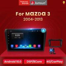 Junsun V1 Android 10 AI Voice Control DSP 4G Car Radio Multimedia Player For Mazda 3 bk 2004-2013 Mazda3 Navigation GPS 2din DVD