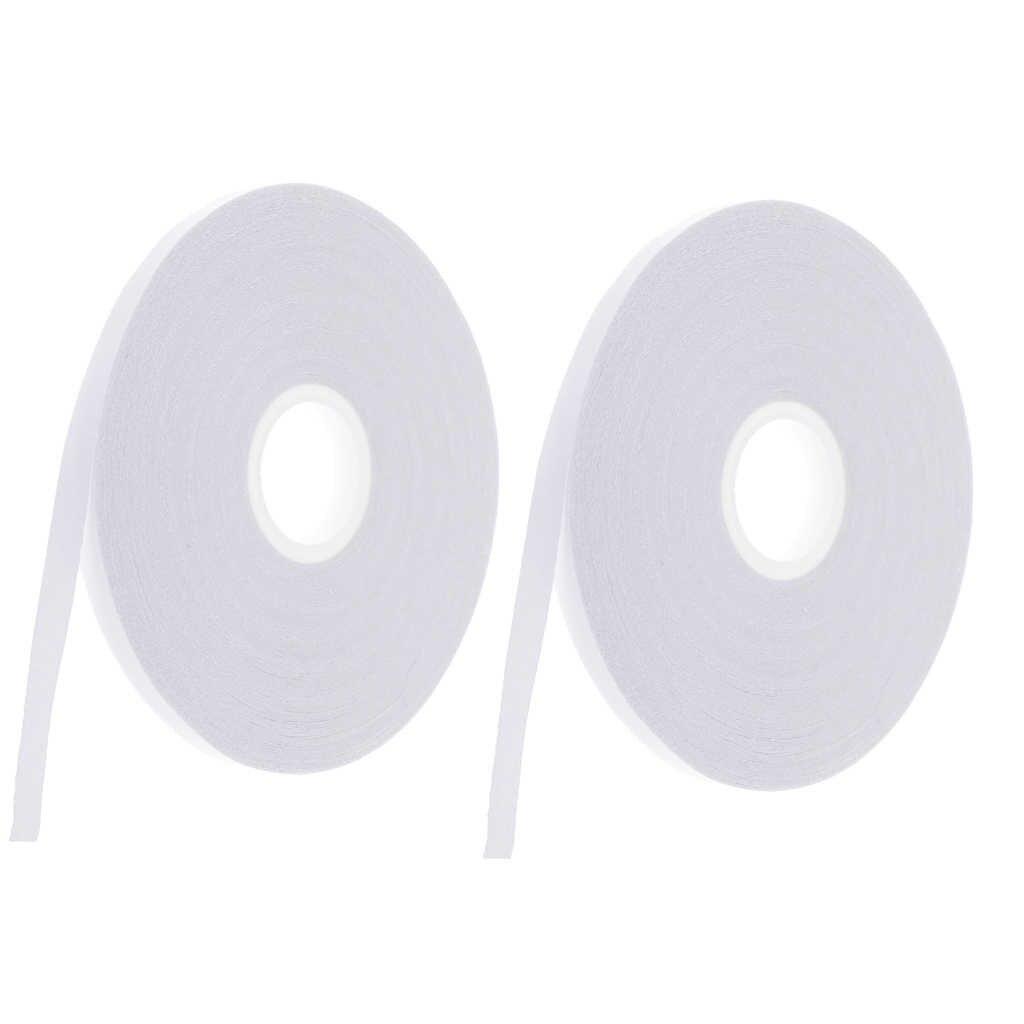 2X20 Mét May Dễ Dàng 2 Mặt Trong Suốt Rửa-Đi Quilter Băng 6 Mm Cho Vải, quần Áo, Miếng Dán Cường Lực DIY Tạm Thời Sửa Chữa