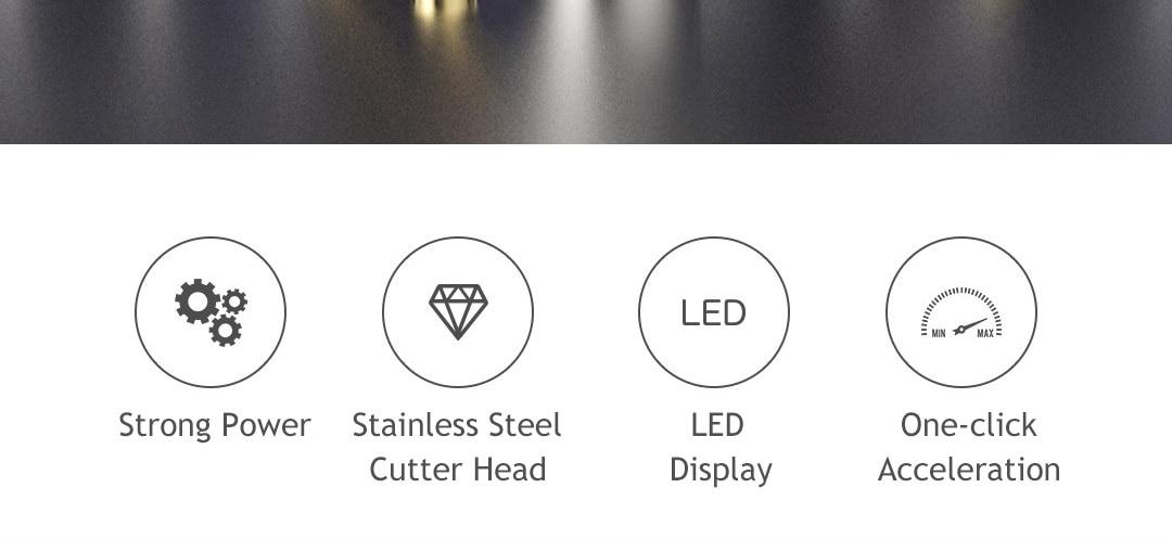 Xiaomi riwa máquina de cortar cabelo aparador