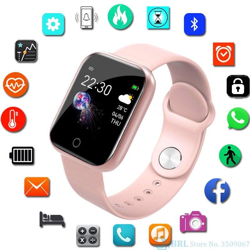 Mới Đồng Hồ Thông Minh Nam Nữ Đồng Hồ Thông Minh Smartwatch Cho Android IOS Điện Tử Đồng Hồ Thông Minh Theo Dõi Sức Khỏe Dây Đeo Silicon Thông Minh-Đồng Hồ Giờ title=