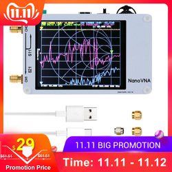 Kkmoon portátil digital 50 khz-900 mhz handheld vector analisador de rede de ondas curtas mf hf vhf uhf antena analisador permanente onda