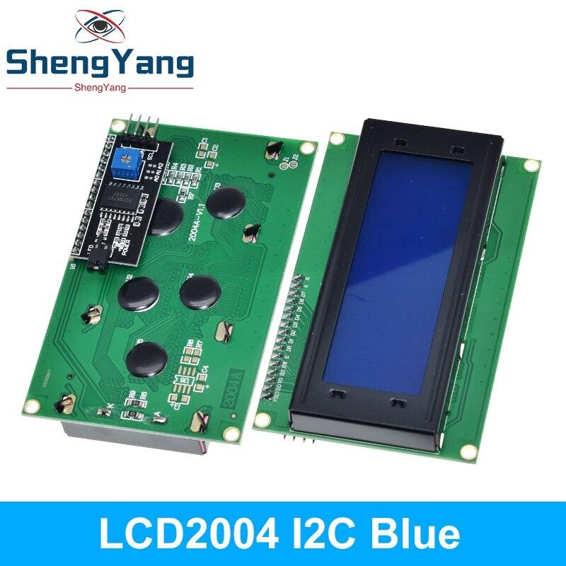 Серийный ЖК-модуль IIC/I2C/TWI 2004 с синей и зеленой подсветкой для Arduino UNO R3 MEGA2560 20X4 LCD 2004